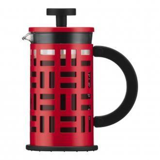 Кофейник френч-пресс BODUM Eileen, 0.35л, красный DOMOS 2215.000