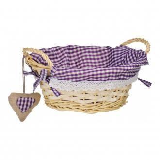 Корзинка круглая для хлеба Premier Housewares, фиолетовый DOMOS 305.000