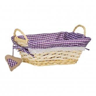 Корзинка прямоугольная для хлеба Premier Housewares, фиолетовый DOMOS 329.000