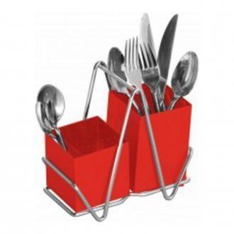 Подставка для кухонных принадлежностей Premier Housewares Caddy, красный DOMOS 739.000