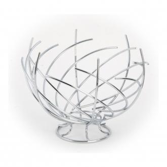 Корзинка для фруктов Premier Housewares Spiral, 30см, хром DOMOS 1065.000