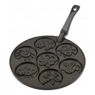 Сковорода Nordic Ware для 7 оладий с рисунком
