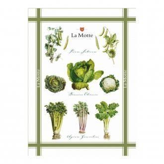 Полотенце кухонное Tessitura Soupe Verde, натуральный DOMOS 745.000