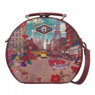 Саквояж Colorful Licenses L Beauty case, красный DOMOS 4959.000