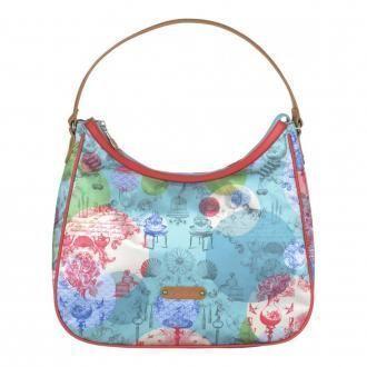 Сумка Colorful Licenses Pip Hobo Bag, бирюзовый DOMOS 3629.000