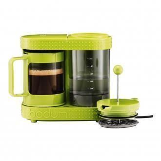 Электрическая капельная кофеварка BODUM Bistro, 0.5л, зеленый DOMOS 3415.000