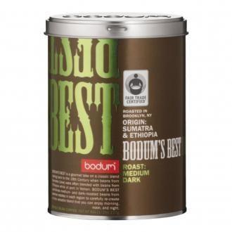 Кофе Bodum's Best зерновой, средне-темная обжарка, 0.35л, белый DOMOS 999.000