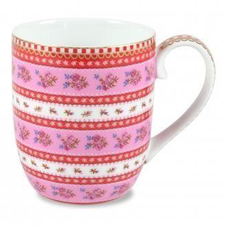 Чашка PiP Studio Полоска, 0.15л, розовый DOMOS 295.000