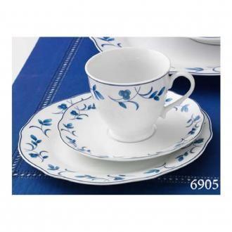 Сервиз кофейный 18 предметов Ritzenhoff & Breker Elisa, белый DOMOS 3985.000
