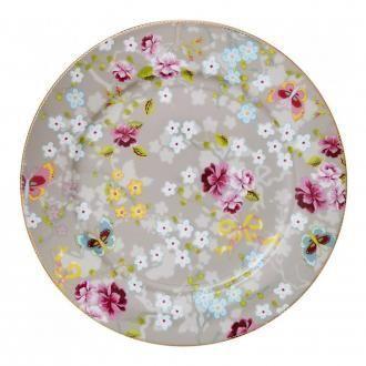 Тарелка Pip Studio Floral Цветок, 21см, серый DOMOS 395.000